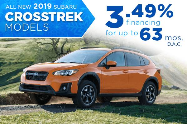 New 2019 Subaru Crosstrek Finance Special Salt Lake City, Utah