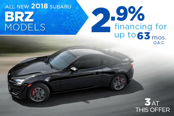 New 2018 Subaru BRZ Low Payment Finance Special in Salt Lake City, Utah