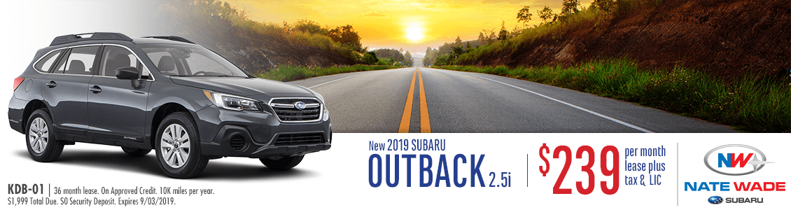 New 2019 Subaru Outback Special | Salt Lake City SUV Savings