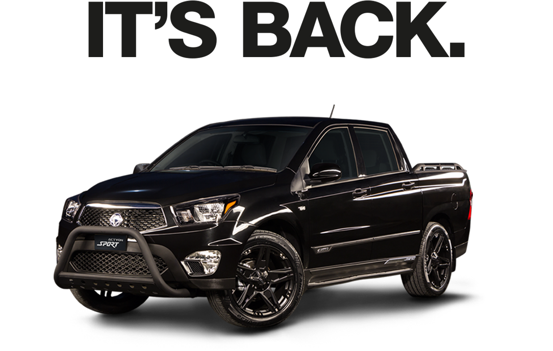 Buy 2WD, Get 4WD SsangYong Models