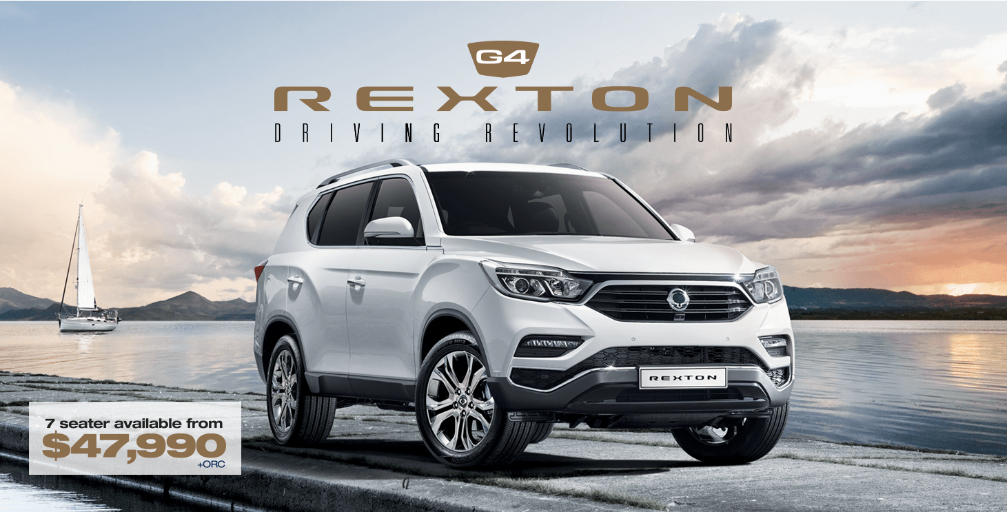 Learn more about the new 2017 SsangYong G4 Rexton available at dealers near you