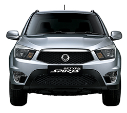 SsangYong Actyon Sports Ute Exterior Design - Front