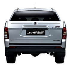 SsangYong Actyon WorkMate Ute Exterior Design - Back