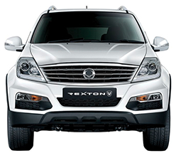 SsangYong Rexton W Exterior Design - Front