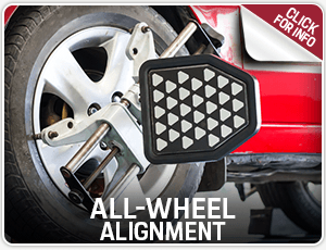Browse our all-wheel alignment service information at Porsche Chandler