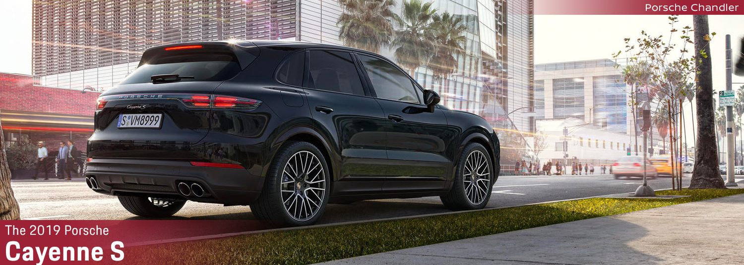 The 2019 Porsche Cayenne S Turbocharged Suv Performance For Phoenix