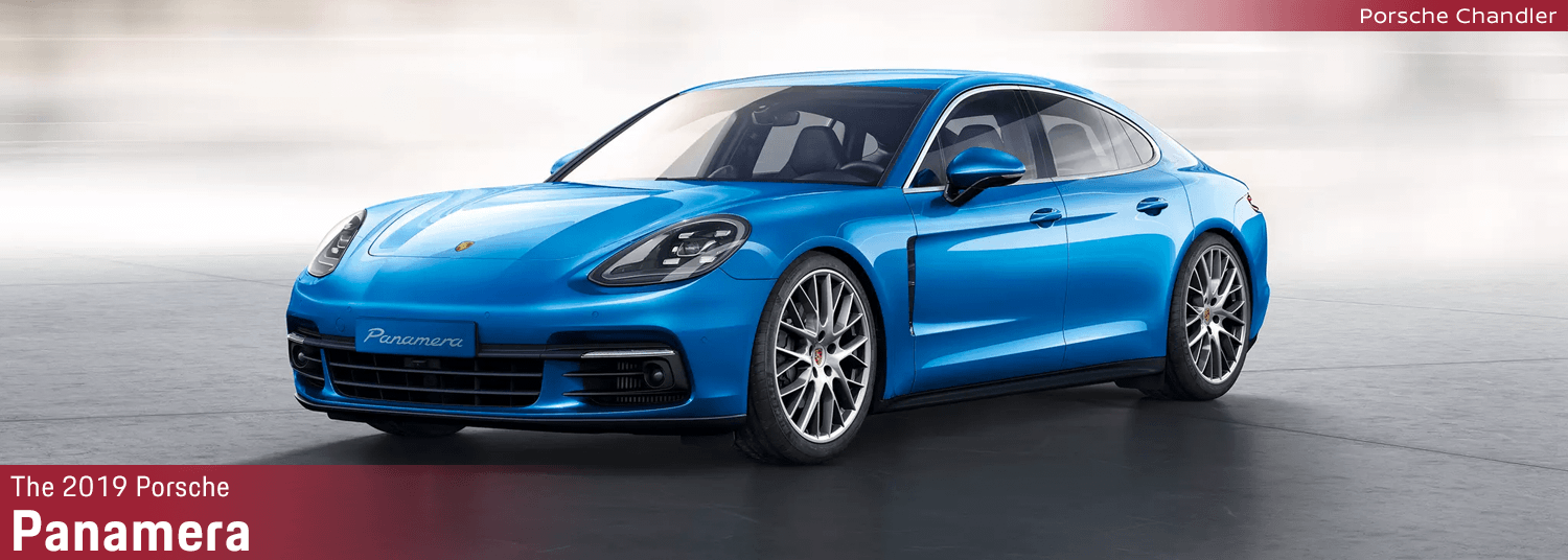 2019 Porsche Panamera model information in Chandler, AZ
