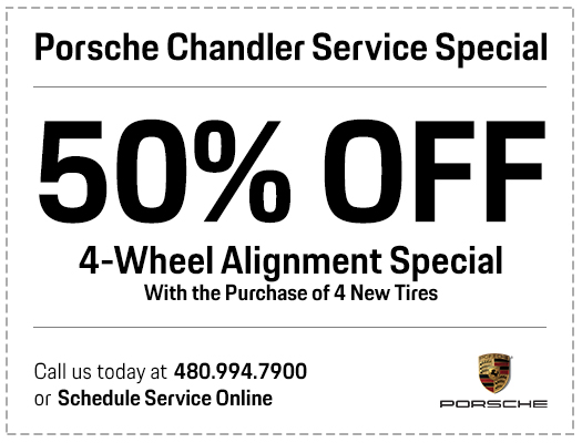 Porsche 4-Wheel Alignment Service Special in Chandler, AZ
