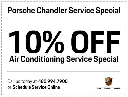 Porsche Air Conditioning Service Special in Chandler, AZ