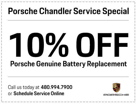 Porsche Battery Replacement Service Special in Chandler, AZ