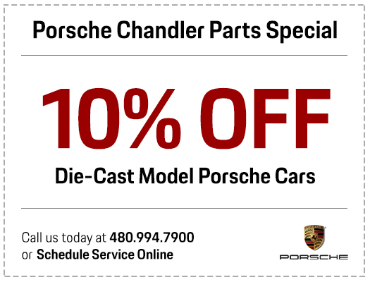 Porsche Chandler diecast model parts special serving the Phoenix-Area