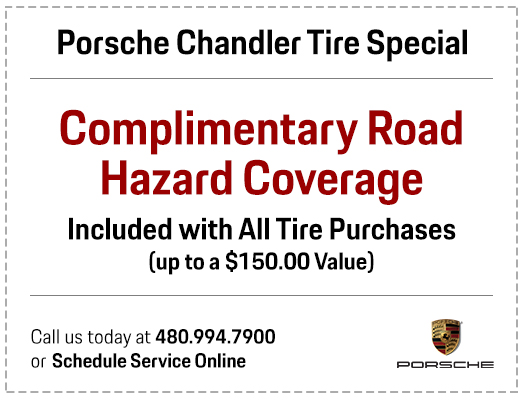 Complimentary Tire Road Hazard Service Special in Chandler, AZ