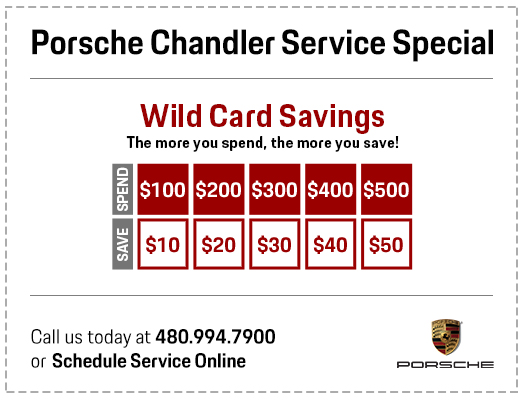 Spend More & Save More with this month's Wild Card Service Special in Chandler, AZ
