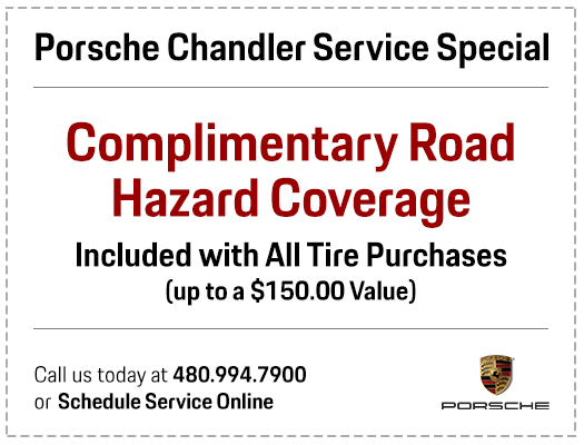 Save with our Complimentary Road Hazard Special with every tire purchase in Chandler, AZ