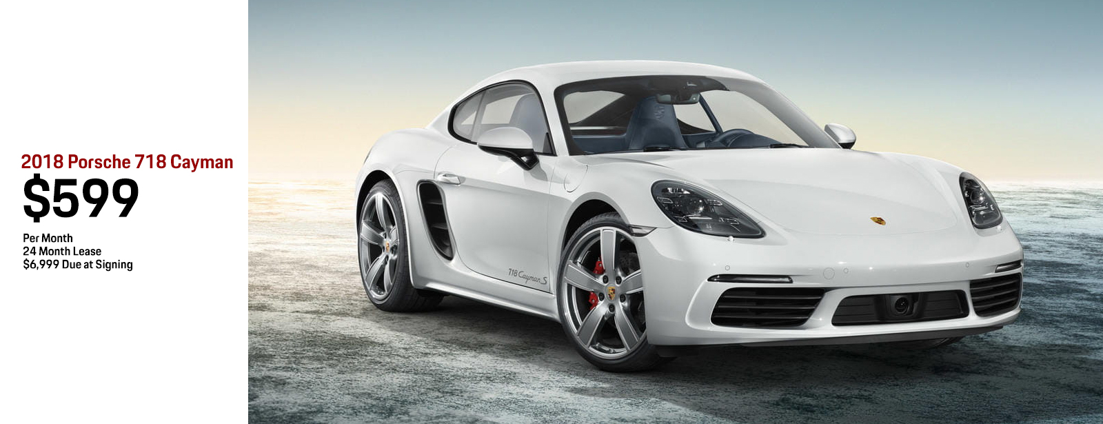 Lease a 2018 Porsche 718 Cayman for a low monthly payment in Chandler, AZ