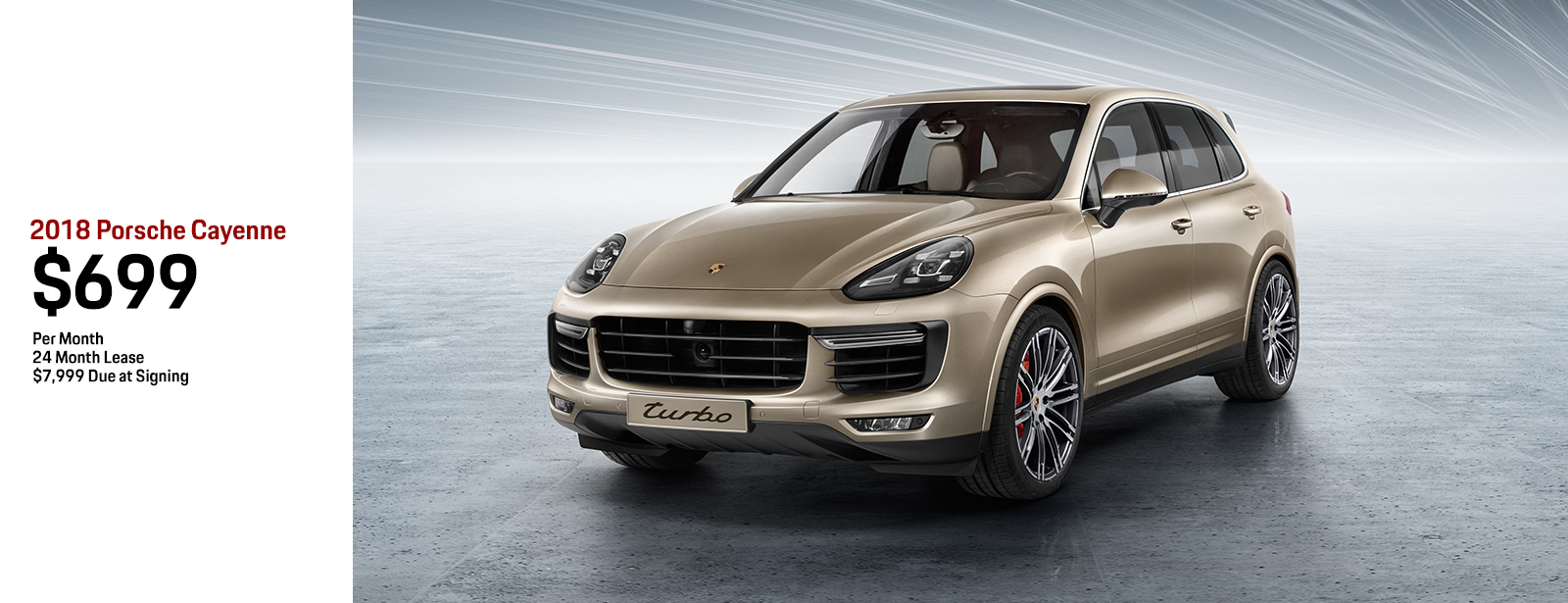 2018 Porsche Cayenne low payment lease special in Chandler, AZ