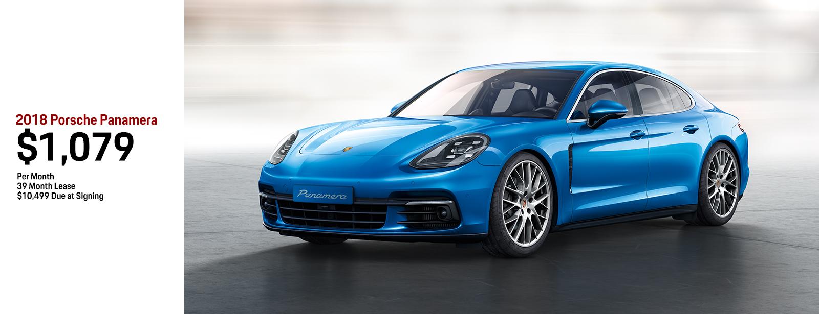 2018 Porsche Panamera Lease Special in Chandler, AZ
