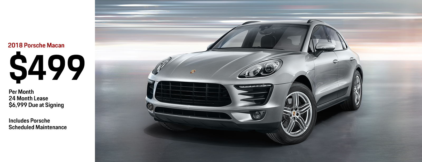 2018 Porsche Macan Low Payment Lease Special in Chandler, AZ