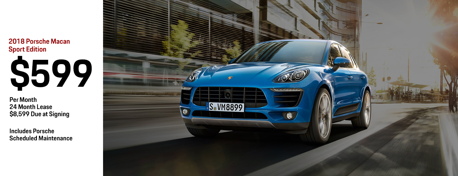 Lease a 2018 Porsche Macan Sport for a Low Monthly Payment in Chandler, AZ