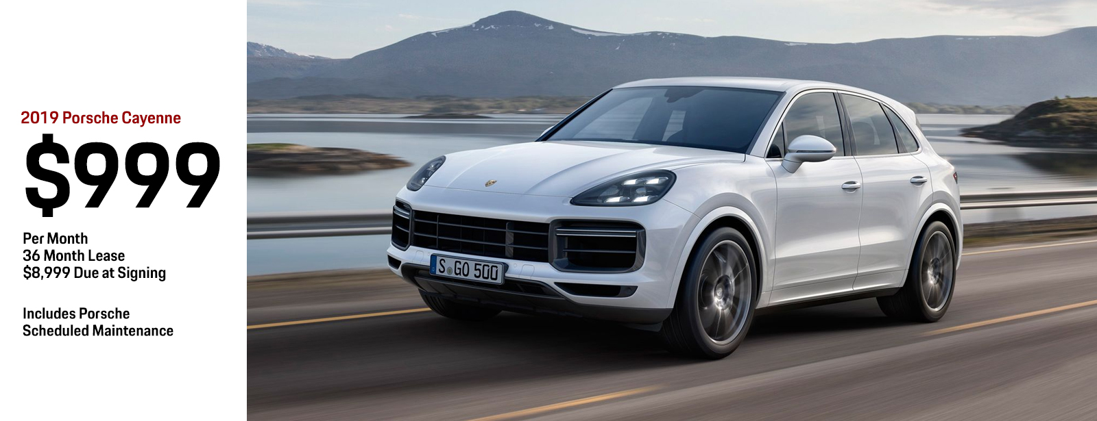 Lease a 2019 Porsche Cayenne for a Special Monthly Payment in Chandler, AZ