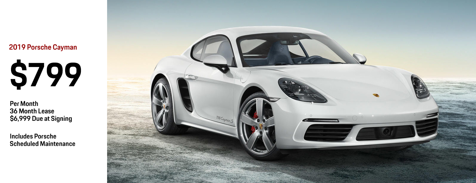 Lease a 2019 Porsche Cayman for a Low Monthly Price in Chandler, AZ