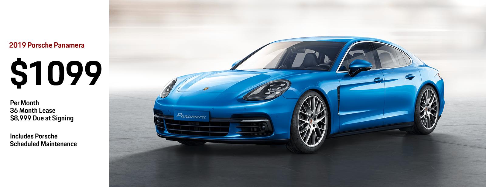 Porsche Panamera Lease >> New 2018 Porsche Panamera Special Lease Offer Chandler Az