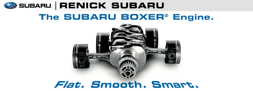Subaru Boxer Engine Design Specifications provided by Renick Subaru