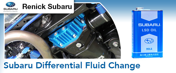 Fullerton Subaru Differential Fluid Change California