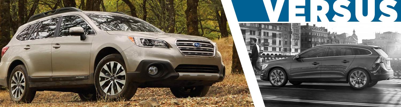 2017 Subaru Outback vs 2017 Volvo V60 Model Comparison serving Orange County, CA