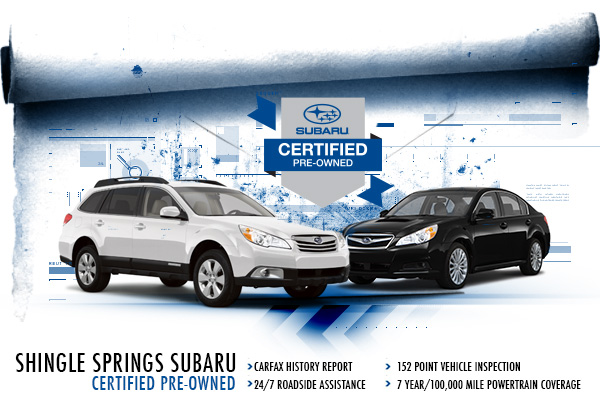 Sacramento Subaru Certified Pre-Owned Vehicles in CA