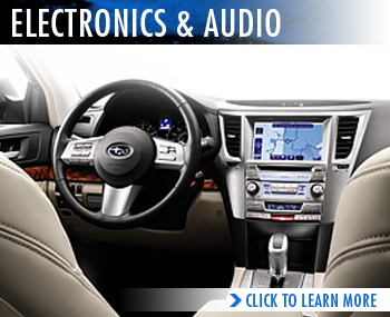 Subaru Audio & Electronic System Features & Information serving Sacramento, California