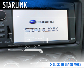 Subaru STARLINK™ infotainment system Information serving Sacramento, California