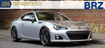 2016 Subaru BRZ Top Safety Pick Sacramento, CA