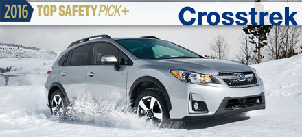 2016 Subaru Crosstrek Top Safety Pick Sacramento, CA