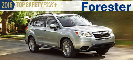 2016 Subaru Forester Top Safety Pick Sacramento, CA