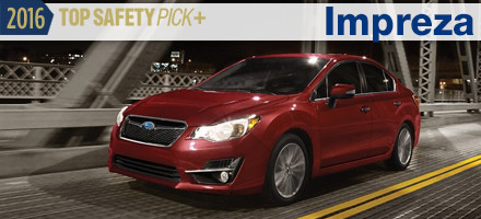 2016 Subaru Impreza Top Safety Pick Sacramento, CA