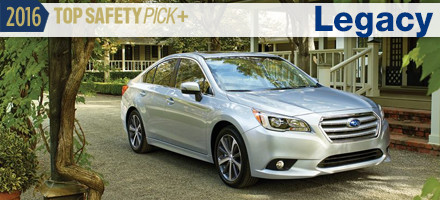 2016 Subaru Legacy Top Safety Pick Sacramento, CA
