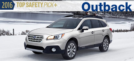 2016 Subaru Outback Top Safety Pick Sacramento, CA