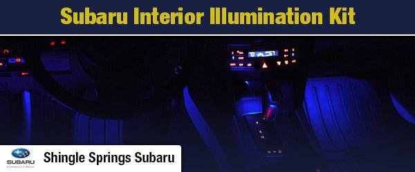 Subaru Interior Illumination Kit Parts Single Springs Ca