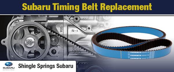 Subaru Timing Belt Replacement Service Single Springs Ca