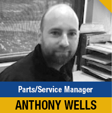 Anthony Wells - Parts and Service Manager at Shingle Springs Subaru