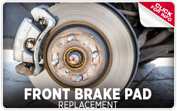 Click to learn about our front brake pad replacement service at Shingle Springs Subaru serving Sacramento, CA