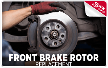 Click to learn about our front brake rotor replacement service at Shingle Springs Subaru serving Sacramento, CA