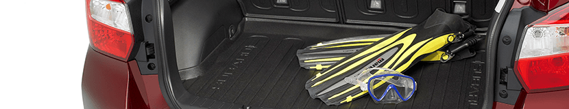 Subaru Rear Cargo Trays
