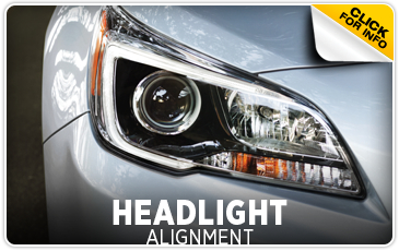 Subaru Headlight Alignment Service Shingle Springs, CA