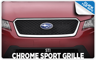Learn more about the Chrome Sports Grille at Shingle Springs Subaru serving Sacramento, CA