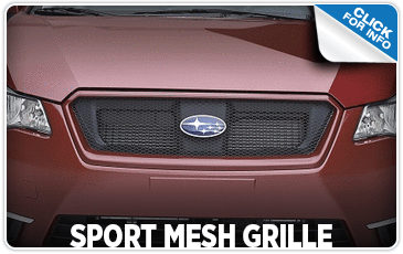 Learn more about the Sport Mesh Grille at Shingle Springs Subaru serving Sacramento, CA