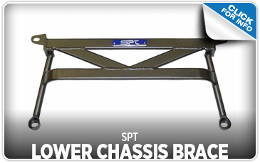 Learn more about the SPT Lower Chassis Brace at Shingle Springs Subaru serving Sacramento, CA