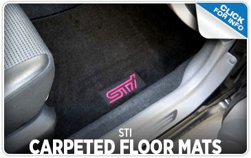 Learn more about the STI Carpeted Floor Mats at Shingle Springs Subaru serving Sacramento, CA