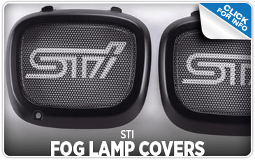 Browse our STI Fog Lamp Covers information serving Sacramento, CA